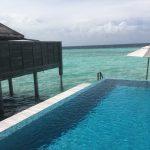 Malediven Anantara Kihavah Overwater Pool Villa