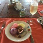 Frühstück Anantara Kihavah Malediven