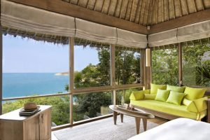 Six Senses Samui Ocean View Pool Villa Innenbereich