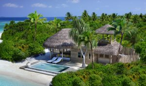Six Senses Laamu Family Villa mit Pool