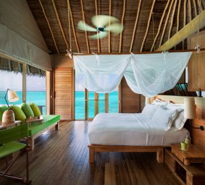 Ocean Villa Interior  Six Senses Laamu