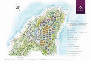 Six Senses Samui Resort Map